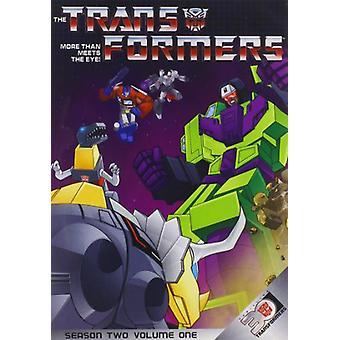 Transformatorer mer än möter ögonen: S2-Vol 1 [DVD] USA import