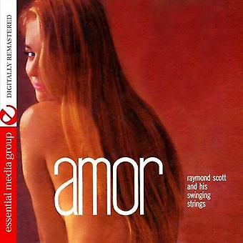 Raymond Scott & zijn swingende Strings - Amor [CD] USA import