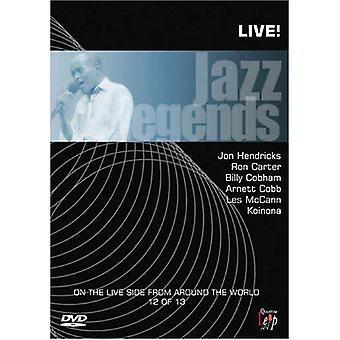 Jazz Legends Live!, Vol. 12 [DVD] USA import