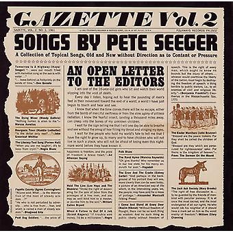 Pete Seeger - Pete Seeger: Seeger, Pete: Vol. 2-Gazette [CD] USA import