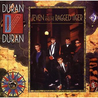 Duran Duran - siete y la importación de los E.e.u.u. Ragged Tiger [CD]