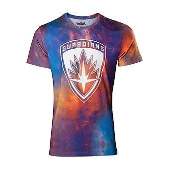 Værger Vol. 2 All-Over Galaxy T-Shirt-multi farve M størrelse (TS571037GOG-M)