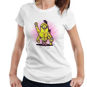 Turneringen Minion Goro Mortal Kombat kvinders T-Shirt