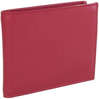 40 Colori Leather Wallet - Red/Beige
