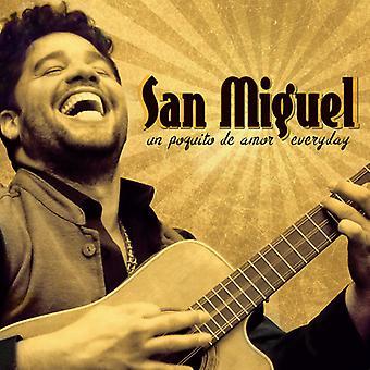 Miguel * San - importar de USA Un Poquito De Amor diaria [CD]