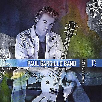 Paul Gargiulo Band - Live på Franklin [DVD] USA import