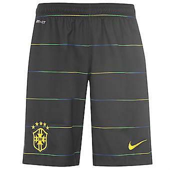 2014-15 Brazilië Nike Third Shorts (Black) - Kids