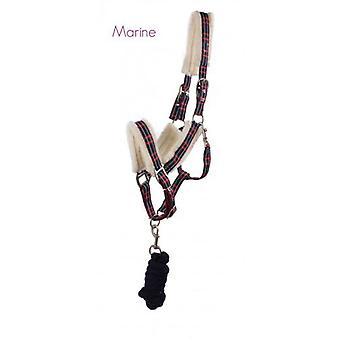 QHP Bridle with Ramal Marino Fur Shet