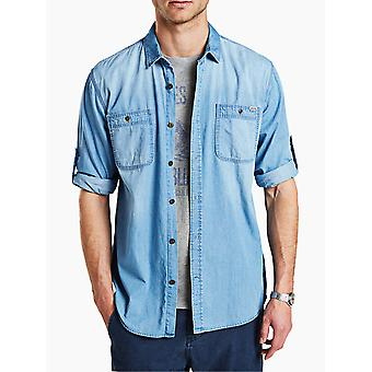Jack and Jones Lakeport Worker Light Blue Casual Shirt