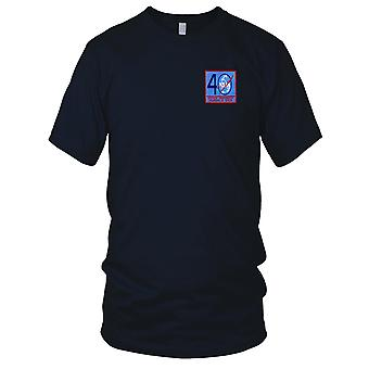 NASA - SP-251 NASA 40 Year Commemorative Pioneers In Space Embroidered Patch - Mens T Shirt