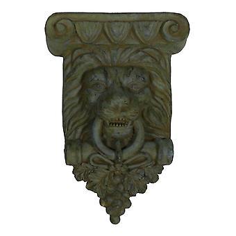 Крытый / Открытый медянка готово лев скульптура стены