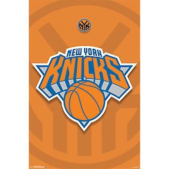 New York Knicks - logotypen 14 Poster affisch Skriv