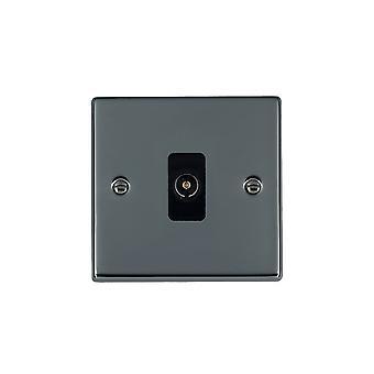 Hamilton Litestat Hartland Black Nickel 1g Non-Isolated TV 1in/1out BL