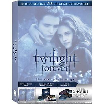 Twilight Forever: Complete Saga Box Set [BLU-RAY] USA import
