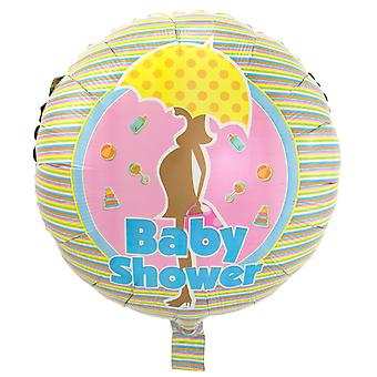 Foil balloon baby shower party birth approximately 45 cm
