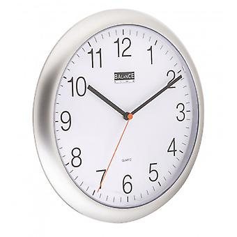 Balance 25 cm Analogue wall clock Silver
