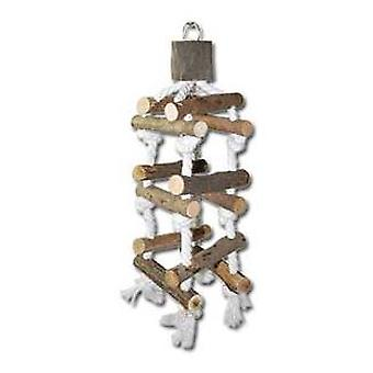 Nayeco Natural birds toy Swing Escalera (Vogels , Speelgoed)