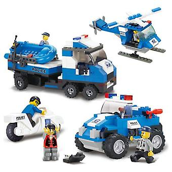 Sluban Police Emergency Vehicles (Babies and Children , Toys , Constructions , Vehicles)