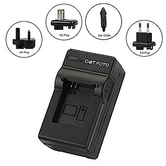 Dot.Foto Ricoh DB-20 Travel Battery Charger for Ricoh Caplio RR1 / Ricoh RDC i500