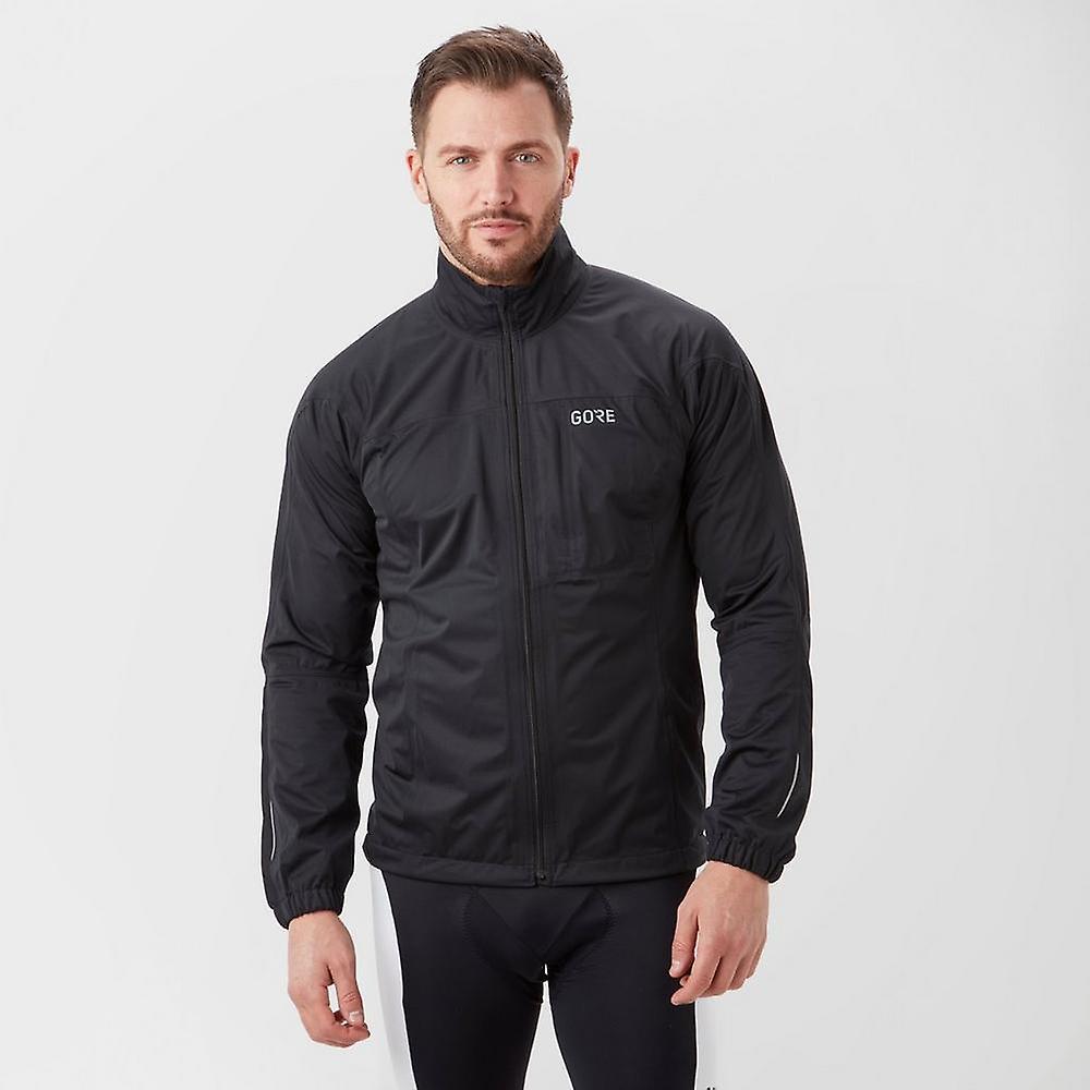 nouveau Gore Hommes& 039;s R3 GORE-TEX de plein air Active veste noir (en anglais)