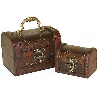 Something Different Diamond Chests (Set Of 2)