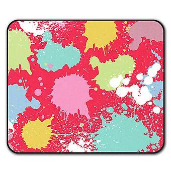 Farbe fällt Mauspad mit Anti-Rutsch Pad 24 x 20 cm | Wellcoda