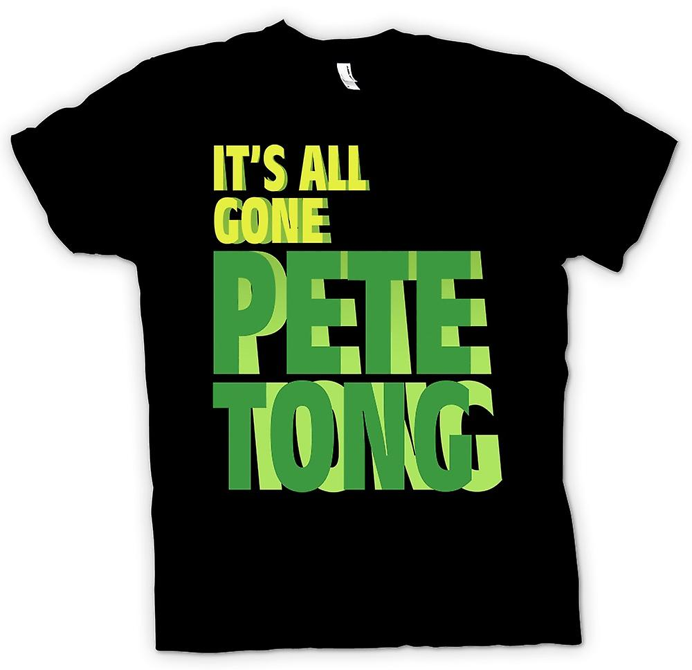Mens T-shirt - son All Gone Pete Tong - Funny