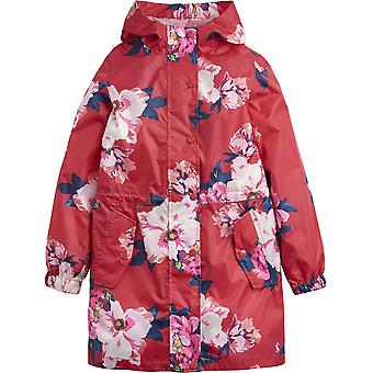 Joules Girls Z ODR Golightly Lightweight Waterproof Parka Coat Jacket