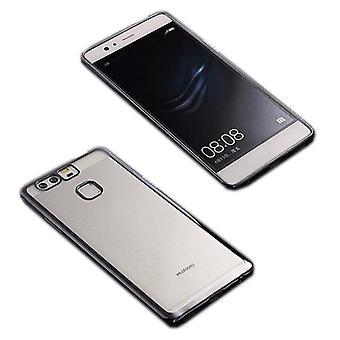 Premium TPU Silikoncase sort for Huawei P9 taske case cover