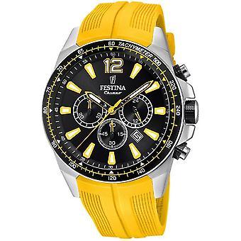Festina mens watch chronograph F20376/4