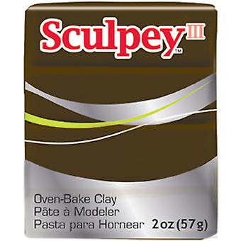Sculpey III Polymer Clay 2oz-Suede Brown
