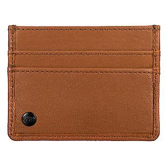 Animal Vital Card Wallet - Tan