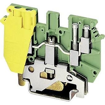 Phoenix Contact UDK 4-PE 2775184 Tripleport PG terminal nombre de broches: 4 0,2 mm² 4 mm² vert-jaune 1 PC (s)