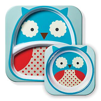 Nikidom Zoo Sets Owl (Childhood , Mealtime , Children's Tableware)