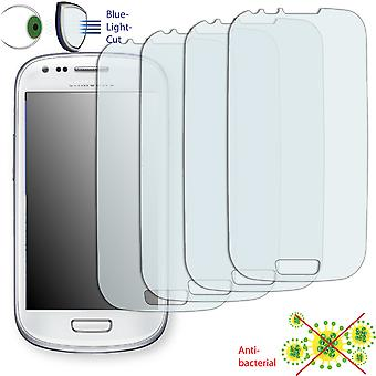 Samsung I8190 Galaxy S3 mini Crystal Edition display protector - Disagu ClearScreen protector (deliberately smaller than the display, as this is arched)