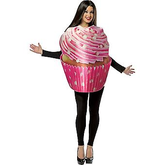 Adult Frosted Cupcake Food Fancy Dress Costume