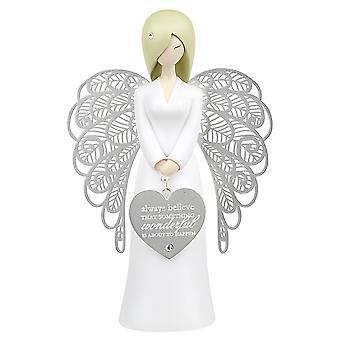 You're An Angel Always Believe Figurine