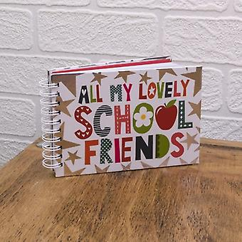 All My Lovely School Friends Autograph Book
