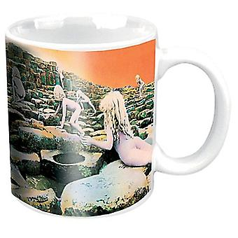 LED Zeppelin Häuser von The Holy Keramik Kaffeetasse (Ro)
