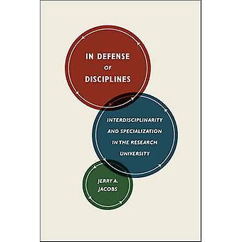 Em defesa de disciplinas - interdisciplinaridade e especialização em