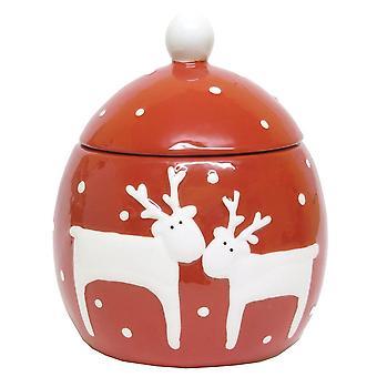 Gisela Graham potten 32505 rød White Deer Gisela Graham