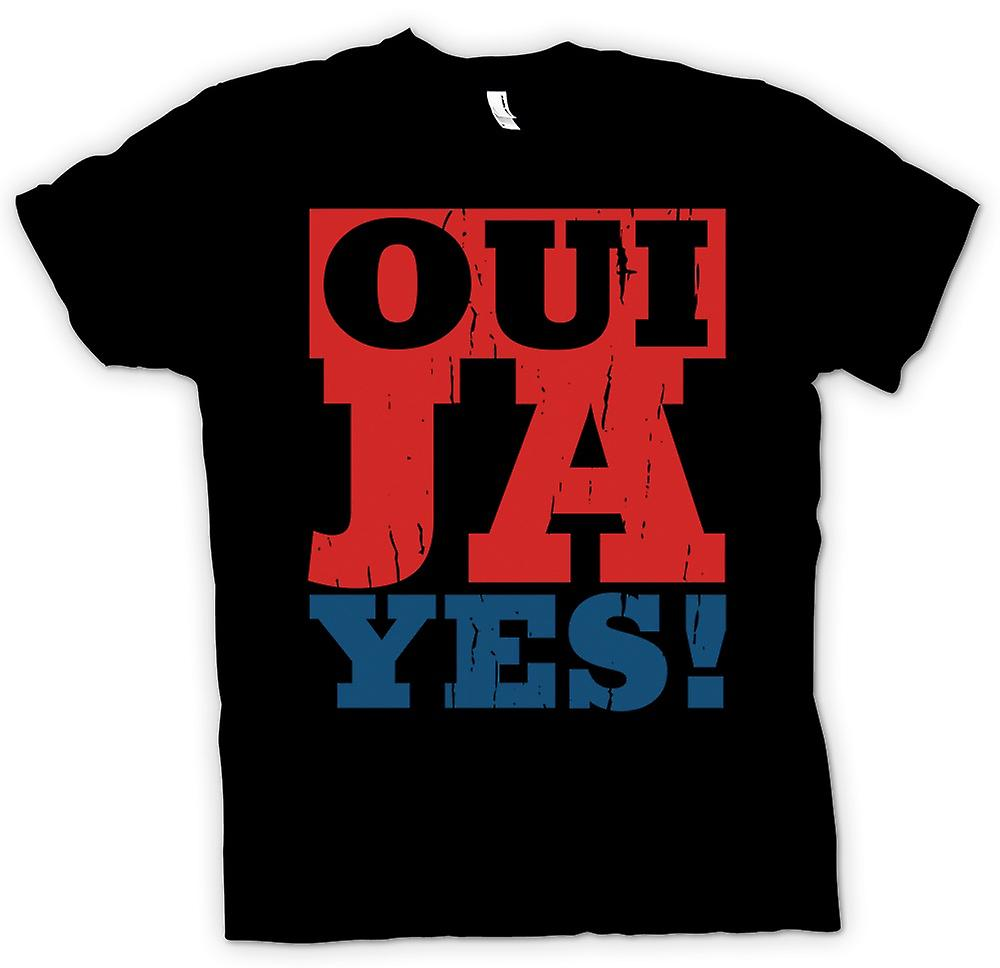 Kids T-shirt - Oui - Ya - Yes - Funny language
