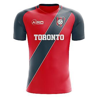 2019-2020 Toronto Home concept voetbal shirt-kinderen