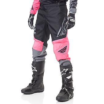 Fly Racing Neon Pink-Black-Grey 2019 F-16 MX Pant