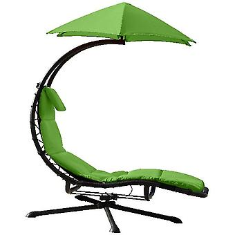 Zweefbed - 360 - Swivel _Lounger - Green Apple