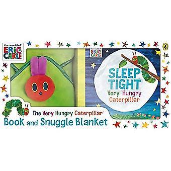 Livro de Caterpillar muito fome e aconchegar cobertor [livro de bordo]