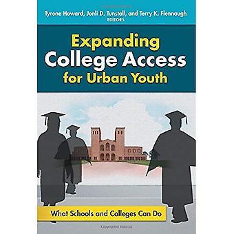 Élargissant l'accès du collège pour les jeunes en milieu urbain: que peuvent faire les écoles et collèges