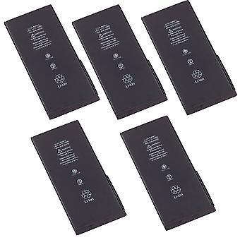 5 حزمة الكثير مجموعة من البطارية لابل أي فون 7 بالإضافة إلى ذلك، 7 +، A1661 A1784 616-00249