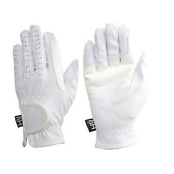 Hy5 voksne syntetisk læder ridning handsker