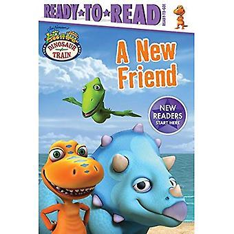 Um novo amigo (trem de dinossauro)